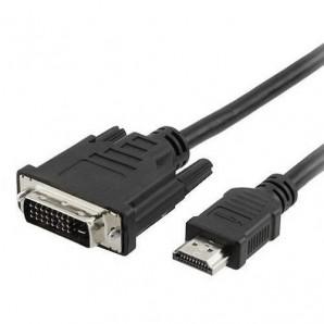 CABLE HDMI-M A DVI-D M 3M