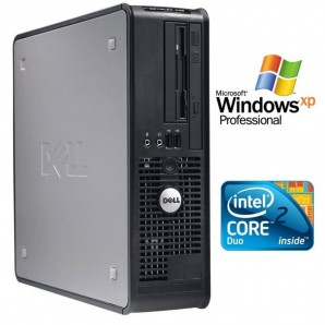 Dell Optiplex 745 C2D 1.8 Ghz/2 GB/160 HD/DVD