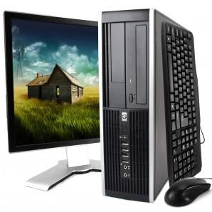 """Hp Compaq 8300 I5/3.2Ghz/8GB/500HD/DVD/W7 + TFT 19"""""""