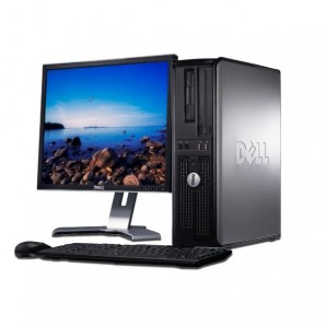 Dell Opt. 380 C2D 3.0/2GB/160 HD/DVD/W7 + TFT Dell 19""
