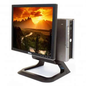 """All in One Dell 755 C2D 2.3Ghz/4GB/80 HD/DVD/TFT 17"""""""