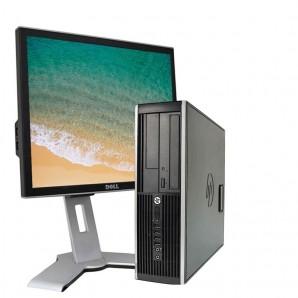 """Ordenadores de marca  economicos HP 8100/i3/2.9Ghz/4 GB/250 HD/DVD+TFT 17"""""""