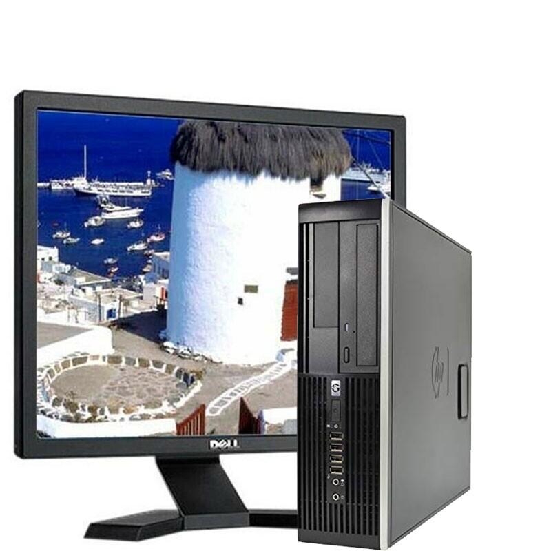 """Hp 6300 Core I3/3.3Ghz/4GB/250HD/DVDRW/W7 con PANTALLA de 17"""""""