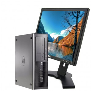 HP Elite 8200 I3/3.1Ghz/4GB/250HD/DVD + PANTALLA DE 17""