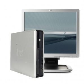 "Ordenador HP 7800 C2D 3.0Ghz/4GB/160/DVDRW/W7 + PANTALLA DE 17"""