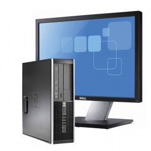 "Hp Compaq 8100  I5/3.2Ghz/4GB/250 HD/DVD/W7Pro +  PANTALLA DE 19"""