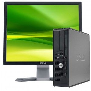 PC Dell 745 C2D | 2GB |160 HD | W7 | com monitor 19""