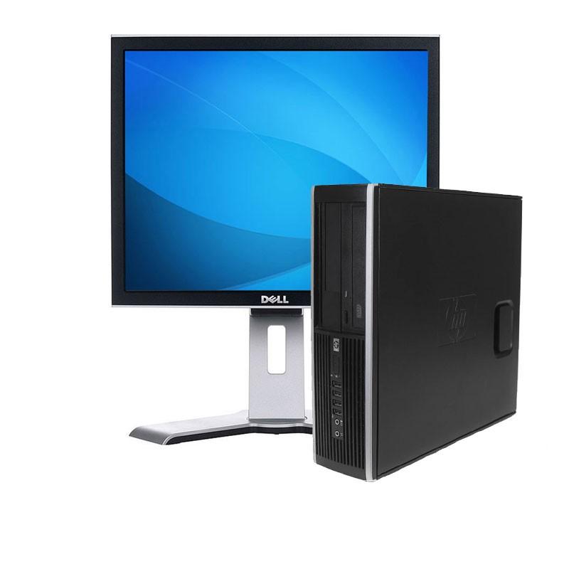 """HP 8100 i5/3.2/4GB/250HD/DVD/W7+PANTALLA DE 17"""""""