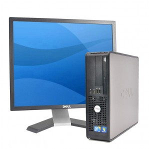 PC Dell 780 C2D |4GB |250HD |com monitor TFT 17""
