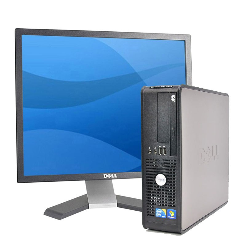 "PC Dell 780 C2D |4GB |250HD |com monitor TFT 17"""