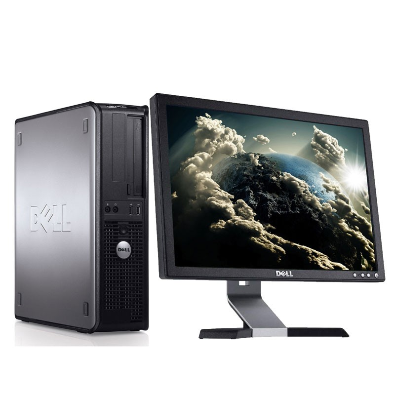 Dell Optiplex 780 C2D 3.0Ghz/4GB/160HD/DVD/W7 + PANTALLA DE 19""