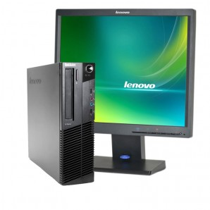 PC con Pantalla Lenovo M82 I3 3.3Ghz/4GB/250 HD/W7/17""