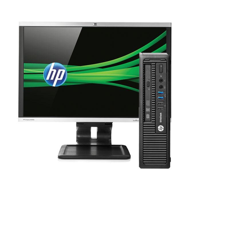 "Ordenadores sobremesa HP 800 G1/ 4ª Gen/ 4 Gb ram/ 250 HD/ W 7 + monitor HP 22"""