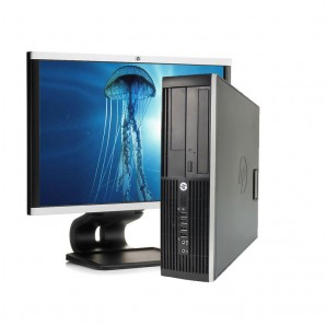 """Ordenadores de marca  economicos HP 8100/i3/2.9Ghz/4 GB/250 HD/DVD+TFT 22"""""""