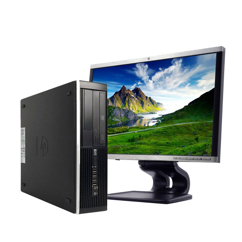 PC con Pantalla HP 8200 I3/4GB/250HD/DVD/W/22""