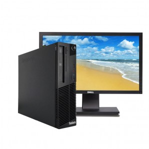 PC con Pantalla Lenovo M82 I3/4GB/250 HD/W7/22""