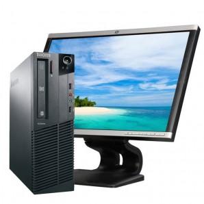 """PC con Pantalla Lenovo M81 Core I3 3.1/4GB/250 HD/W7/22"""""""