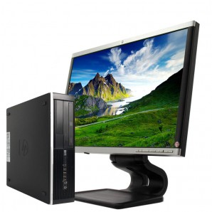 PC con Pantalla HP 8100 i5/3.2/4GB/250HD/W7/22""