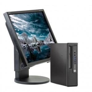 """Pantalla HP 800 G1 I5-4ª/4 GB/250 HD/W7 Pro/NEC de 19"""""""