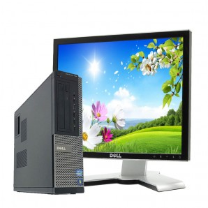 PC con Pantalla Dell 7010 I5/3.2/4GB/250 HD/DVD/17""