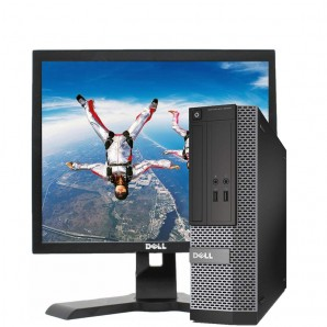 Pc con Pantalla Dell 3020 I5/3.2Ghz/4GB/250 HD/DVD/W7/17""