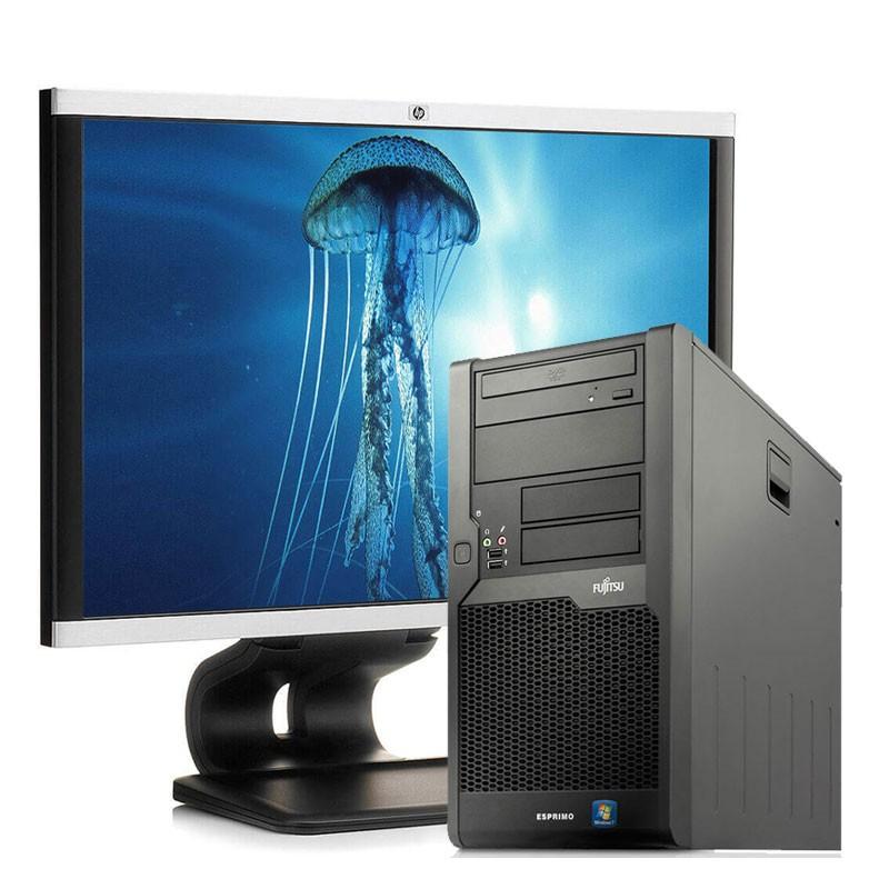 """PC con Pantalla Fujitsu P9900 i5/4GB/250 HD/DVD/W7/22"""""""
