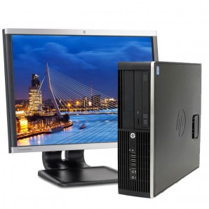 "PC con Pantalla HP 8300 I5 /4GB/250HD/DVD/W7/22"""