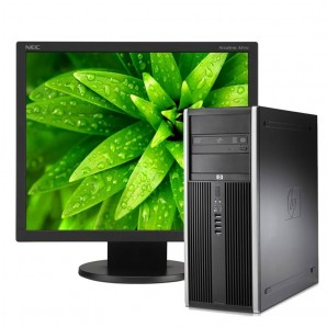 PC con Pantalla HP Elite 8100 I7/4GB/250HD/DVD/W7Pro/19""