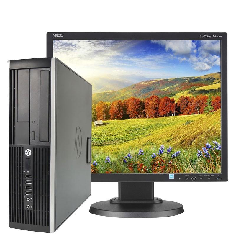 "PC con Pantalla HP 8100 I7/2.8/4GB/250HD/DVD/W7/19"""