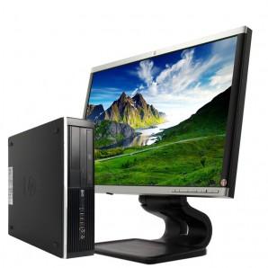 "PC con Pantalla HP 8100 I7/2.8/4GB/250HD/DVD/W7/22"""