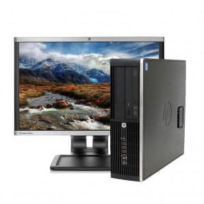 PC con Panalla HP 8300 I7/3.4/4GB/250GB HD/W7/22""