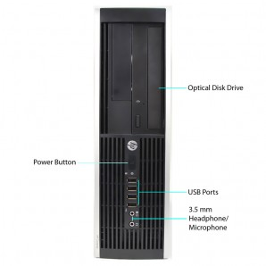 Hp 8300 I7/3.4/4GB/250GB HD/DVDRW/W7