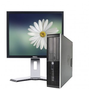 PC con Panalla HP 8300 I7/3.4/4GB/250GB HD/W7/17""