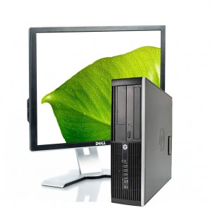 PC con Panalla HP 8300 I7/3.4/4GB/250GB HD/W7/19""