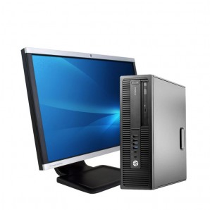 PC c/ Monitor HP 800 G1 I7|4GB |500GB HD |W10 Pro|22""