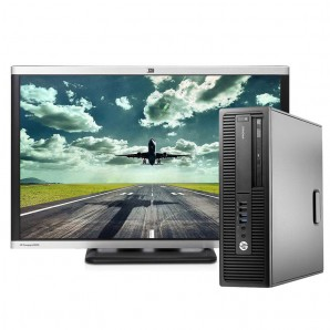 PC con Pantalla HP 800 G2 I7/8GB/500HD/DVDRW/W10/24""
