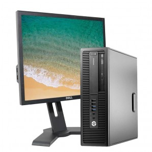 PC con Pantalla HP 800 G1 I7/8GB/500GB HD/DVDRW/W10 Pro/19""
