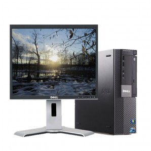 PC con Pantalla Dell 980 I7 2.8/4GB/250HD/DVD/W7/19""