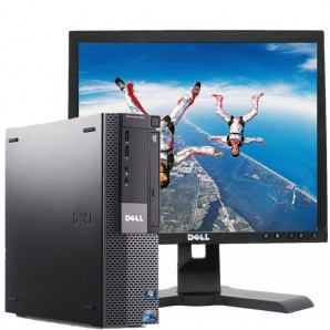 PC con Pantalla Dell 980 I7 2.8/4GB/250HD/DVD/W7/17""
