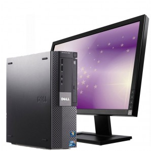 PC con Pantalla Dell 990 I7 3.4GHz/4GB/250HD/W7/22""