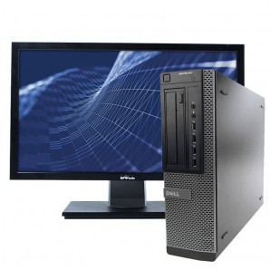 PC con Pantalla Dell 7010 I7 3.4GHz/4GB/250HD/W7/22""