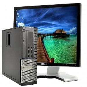 PC con Pantalla Dell 9020 I7/3.2Ghz/8GB/500 HD/DVD/W7/19""