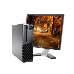 PC con Pantalla LENOVO M92 I7/4GB/250 HD/DVD/W7/19""