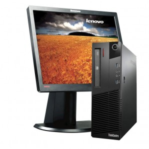 Pc con pantalla Lenovo M81 i7 3.4/ 4GB/ 250HD/ DVD/ W7/17""