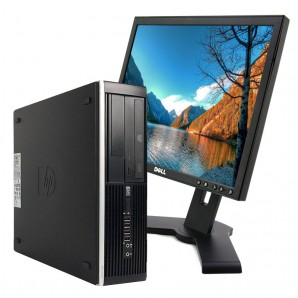 PC con Pantalla HP 8300 I5 3.2Ghz/4GB/250HD/DVD/W7/17""