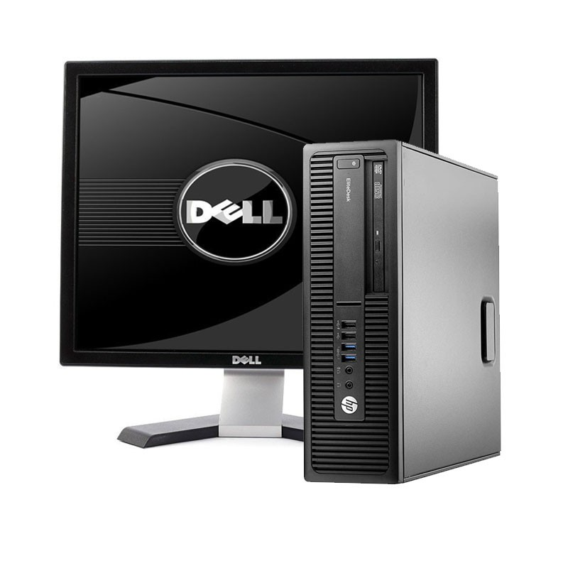 Pc co Pantalla HP 800 G2 I5-6ª/8 GB/128 SSD / W10/19""