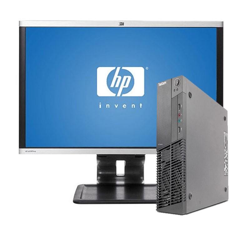 """PC con Pantalla LENOVO M92 I5/4GB/250 HD/DVD/W7/22"""""""