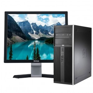 PC con Pantalla HP 8100 I7/4GB/250HD/DVD/W7/Torre/17""