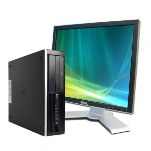 PC con Pantalla Hp 8200 I7/3.4/4GB/250 HD/DVDRW/W7/17""