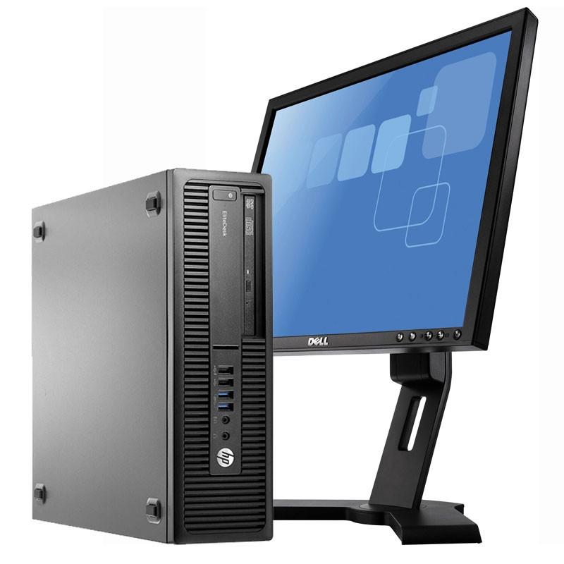 """PC con Pantalla HP 800 G2 I7/8GB/256SSD/DVDRW/W10/19"""""""